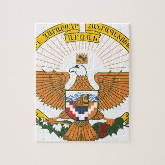 Manteau d'Artsakh (Haut-Karabagh) des bras Puzzle
