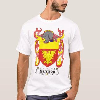 Manteau de famille de Harrison de T-shirt de bras
