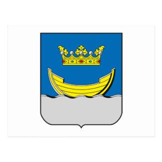 Manteau de Helsinki de carte postale de bras