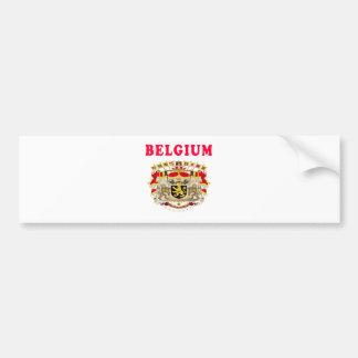 Manteau de la Belgique des conceptions de bras Adhésifs Pour Voiture