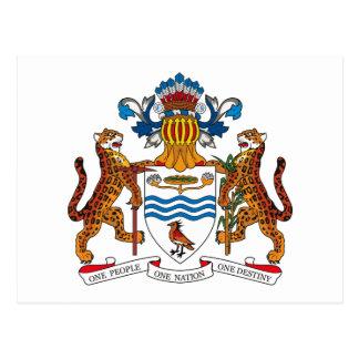 Manteau de la Guyane de carte postale de bras