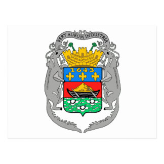 Manteau de la Guyane française française des bras Carte Postale