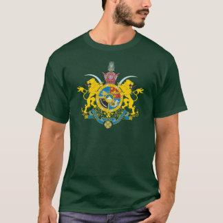 Manteau de l'Iran des bras (dynastie 1925-1979 de T-shirt