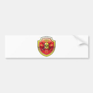 Manteau de logo royal de chevalier de bras autocollant de voiture