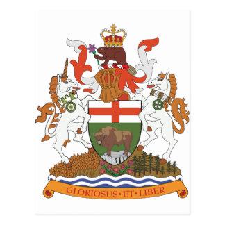 Manteau de Manitoba des bras Carte Postale