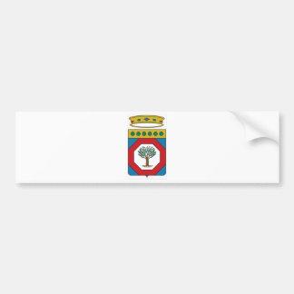 Manteau de Pouilles des bras (Italie) Adhésif Pour Voiture