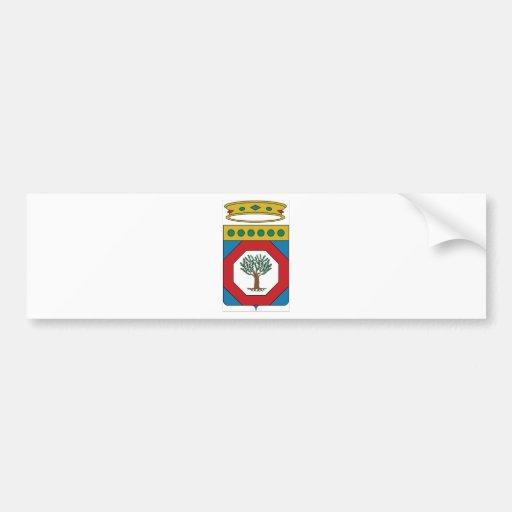 Manteau de Pouilles (Italie) des bras Autocollant Pour Voiture