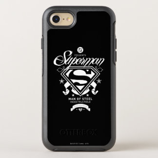 Manteau de Superman des bras Coque OtterBox Symmetry iPhone 8/7