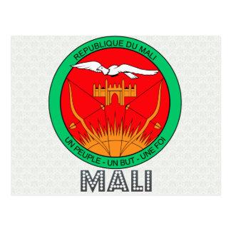 Manteau du Mali des bras Carte Postale
