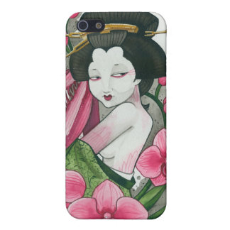 """Mantes d'orchidée "" iPhone 5 Case"