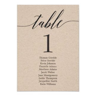 Manuscrit moderne de carte individuelle de Tableau