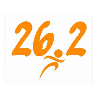 Marathon de l'orange 26,2 carte postale