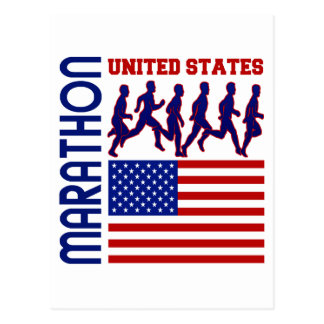 Marathon, Etats-Unis Carte Postale