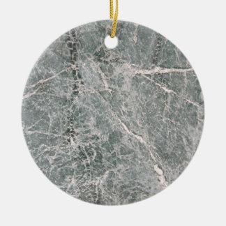 Marble Texture Ornement Rond En Céramique