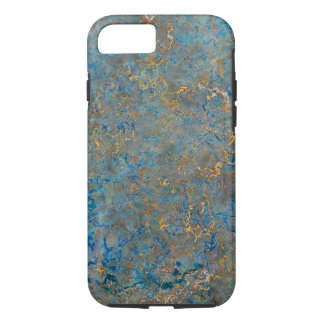 Marbre de luxe de lazulite de Lapis Coque iPhone 8/7