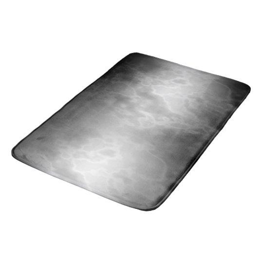 Marbre noir de charbon de bois tapis de bain zazzle Tapis de bain mousse memoire
