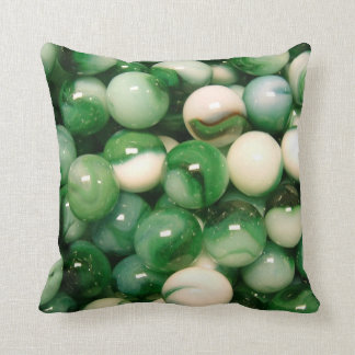 Marbres verts coussin