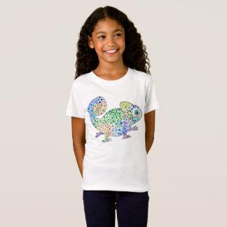 Marcel le caméléon badine le T-shirt