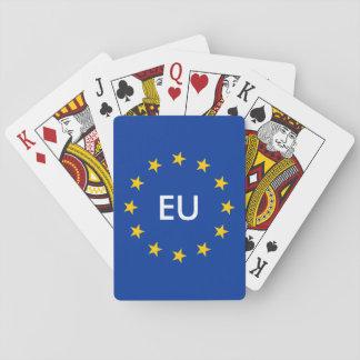 Marchandises de cartes de jeu de drapeau d'UNION Jeu De Cartes