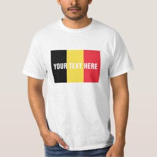 Marchandises faites sur commande belges des t-shirt