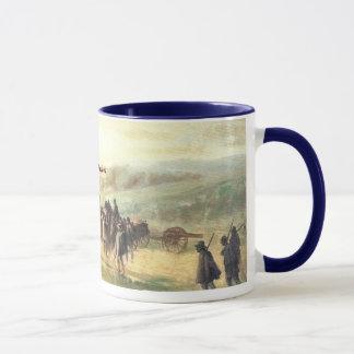 Marche sous la pluie après tasse de Gettysburg