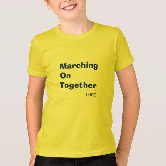 Marche sur ensemble le T-shirt d'enfants de Leeds