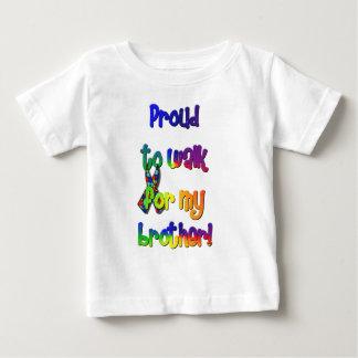 Marcheur de sensibilisation sur l'autisme t-shirt pour bébé