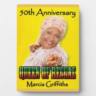 Marcia Griffiths het Jubileum Reggae Fotoplaat