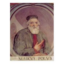 Marco Polo de 'Sala del Mappamondo' Cartes Postales
