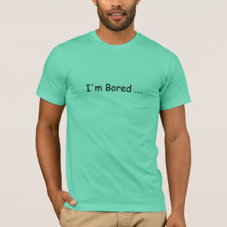 """Marcus Trix """"je m'ennuie…."""" T-shirt"""