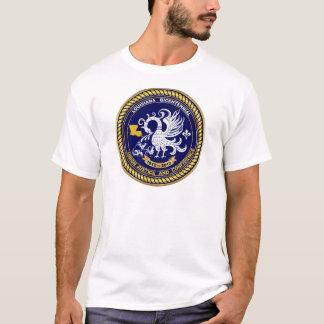 Mardi gras 1812-2012 bicentenaire Louisiane T-shirt