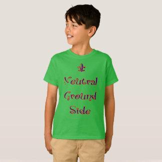Mardi gras - côté de la terre neutre d'enfants t-shirt