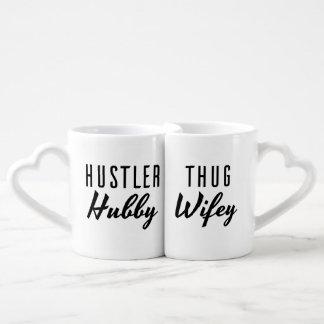 Mariage de Wifey de mari et de voyou de Mug