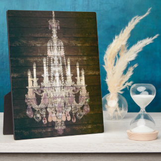 Mariage en bois de lustre de grange vintage photos sur plaques