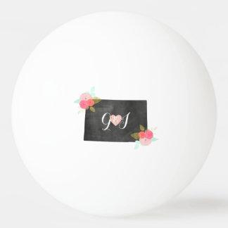 Mariage floral chic d'état du Colorado de Balle De Ping Pong
