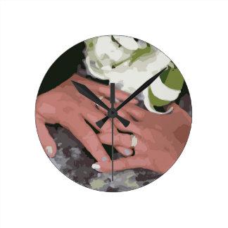 Mariage Rings1 Horloge Ronde