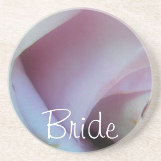 Mariage rose de lilas dessous de verres