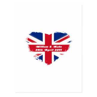 Mariage royal - Kate et William Carte Postale