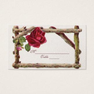 Mariage victorien de Tableau de Placecards de Cartes De Visite