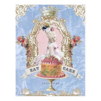 Marie Antoinette-Mangent la carte postale de