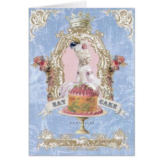 Marie Antoinette-Mangent le carte pour notes de