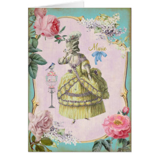 Marie mignon Antoinette - carte