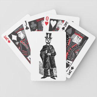 Marié squelettique - cartes de jeu de tisonnier jeux de cartes