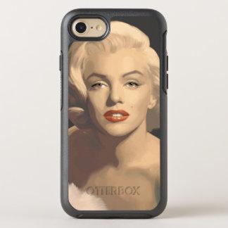 Marilyn grise graphique coque otterbox symmetry pour iPhone 7