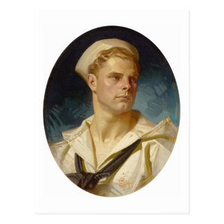 Marin américain par Joseph Leyendecker Carte Postale
