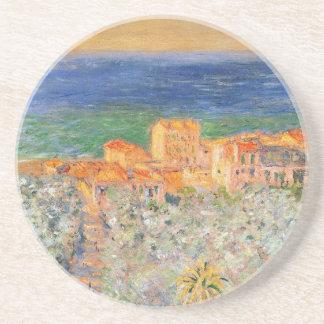 Marina de Burgo chez Bordighera par Claude Monet Dessous De Verres