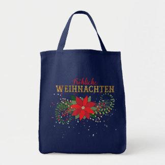 Marine bleue allemande de Joyeux Noël Tote Bag