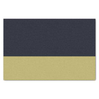Marine en Gouden 10lb Papieren zakdoekje Tissuepapier