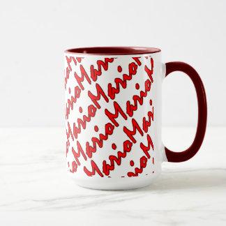 Mario a customisé le style rouge tasse de sonnerie