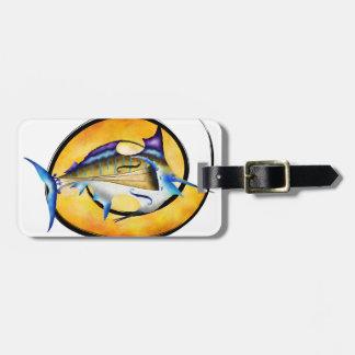 Marlinissos V1 - dos de witout de violinfish Étiquette À Bagage